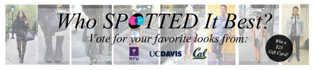 Style Trends at New York University, UC Davis, and UC Berkeley
