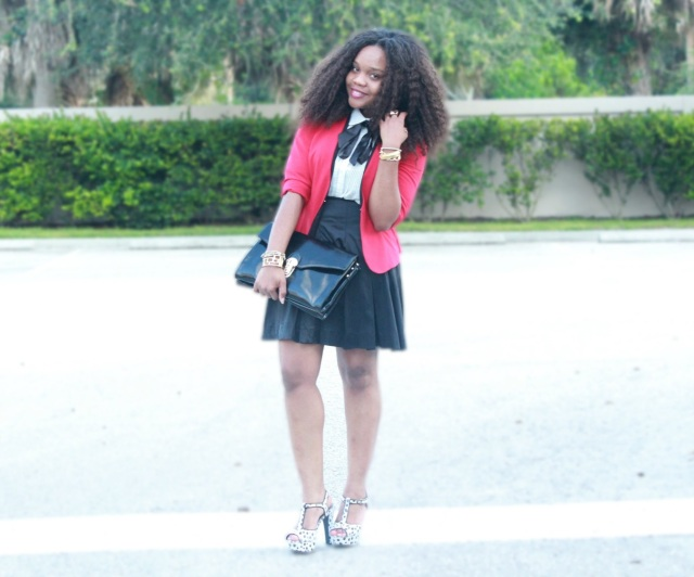 fashion and the rebel, preppy chic with pink and pepper, thrifted, fall, bow ties, style