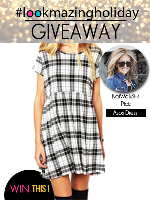 KatWalkSF LookMazing Holiday Giveaway