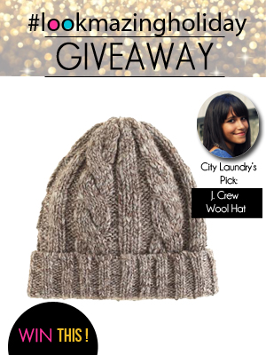J. Crew Wool Hat Giveaway on LookMazing