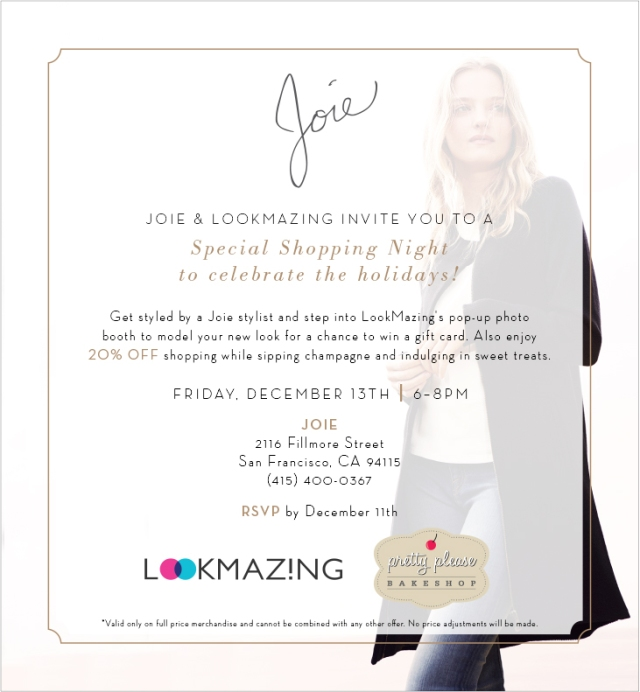 LookMazing and Joie Holiday Party
