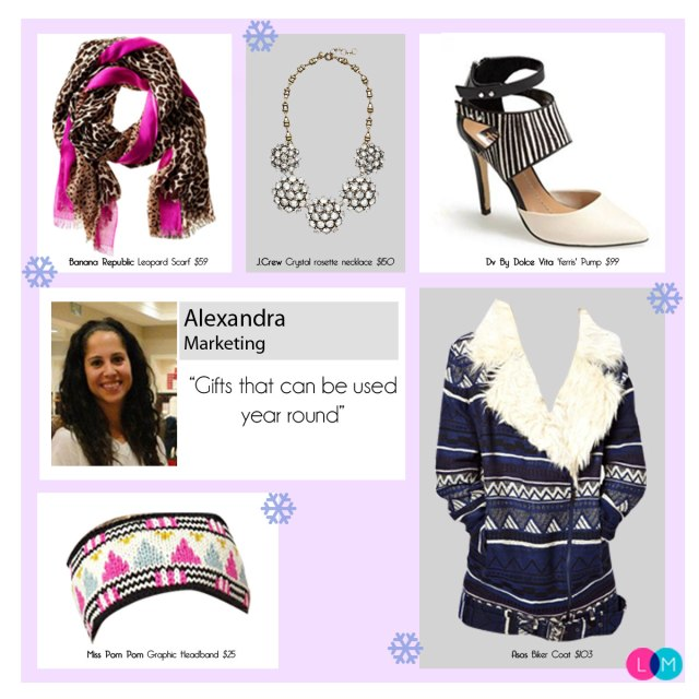 Holiday Gift Guide Alexandra