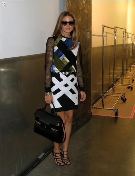Olivia Palermo: Snapped: Tibi at New York Fashion Week