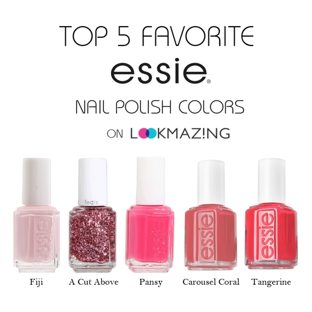 Top 5 Favorite Essie Nail Polish Colors for Spring 2014