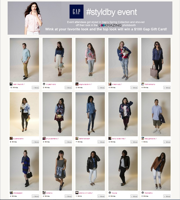 Gap Styldby LookMazing Photo Contest