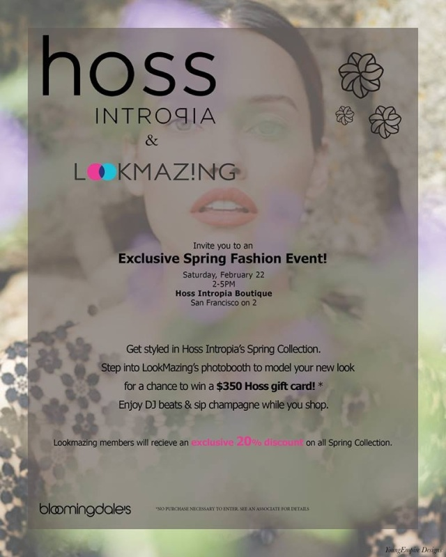 LookMazing & Hoss Intropia Invitation
