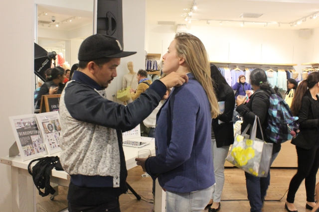 Emerson Aquino Styling at LookMazing & Gap Event