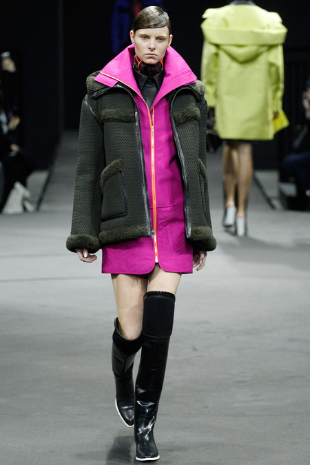 Alexander Wang Fucshia Color