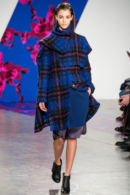 Thakoon Plaid Look